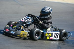 Cooper Hicks took top honors in Honda Kid Kart