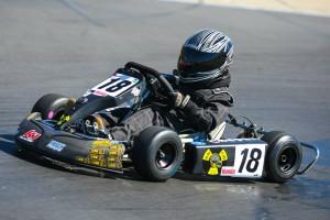 Cooper Hicks took top honors in Honda Kid Kart